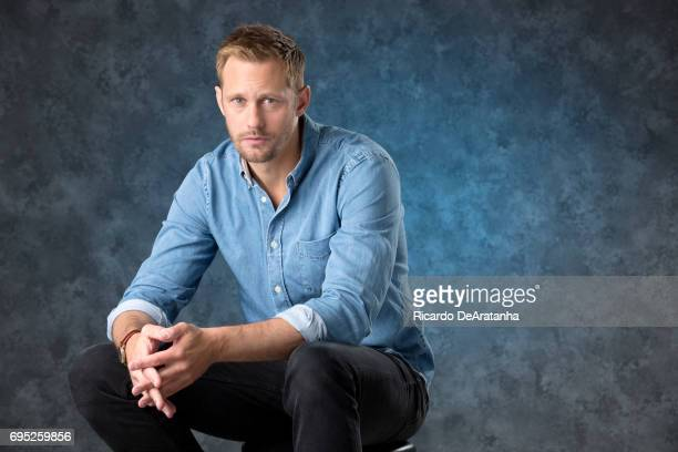 Actor Alexander Skarsgard for Los Angeles Times on May 11 2017 in Los Angeles California PUBLISHED IMAGE CREDIT MUST READ Ricardo DeAratanha/Los...