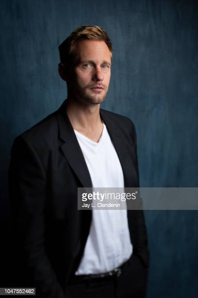 Actor Alexander Skarsgard, from 'The Hummingbird Project' is photographed for Los Angeles Times on September 9, 2018 in Toronto, Ontario. PUBLISHED...
