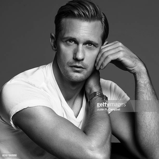 Actor Alexander Skarsgard is photographed for Just Jared on June 24 2016 in Los Angeles California