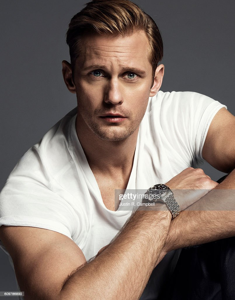 Alexander Skarsgard, Just Jared, July 1, 2016 : News Photo