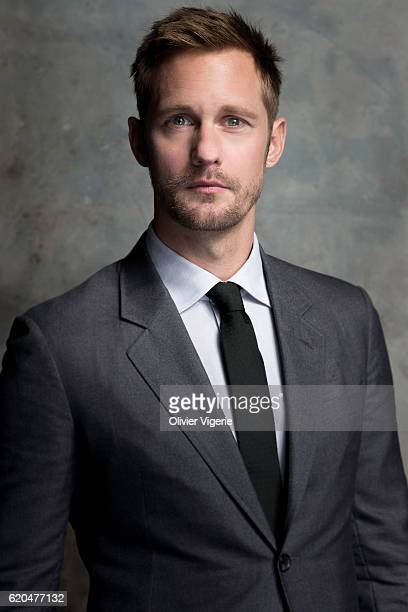 Actor Alexander Skarsgard is photographed for Self Assignment on September 3 2016 in Deauville France