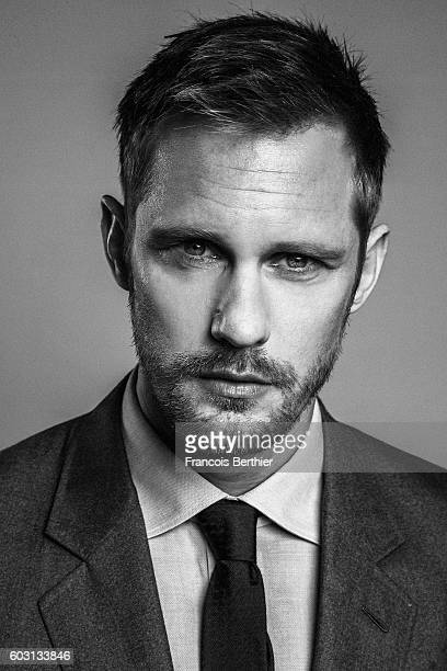 Actor Alexander Skarsgard is photographed for Self Assignment on September 6 2016 in Deauville France
