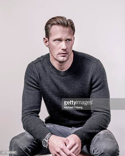 Actor Alexander Skarsgard is photographed for Variety on February 3 2015 in Park City Utah