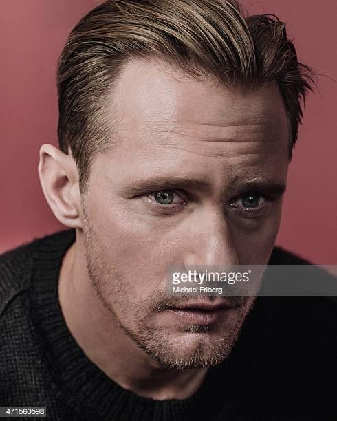 Actor Alexander Skarsgard is photographed for Variety on February 3 2015 in Park City Utah