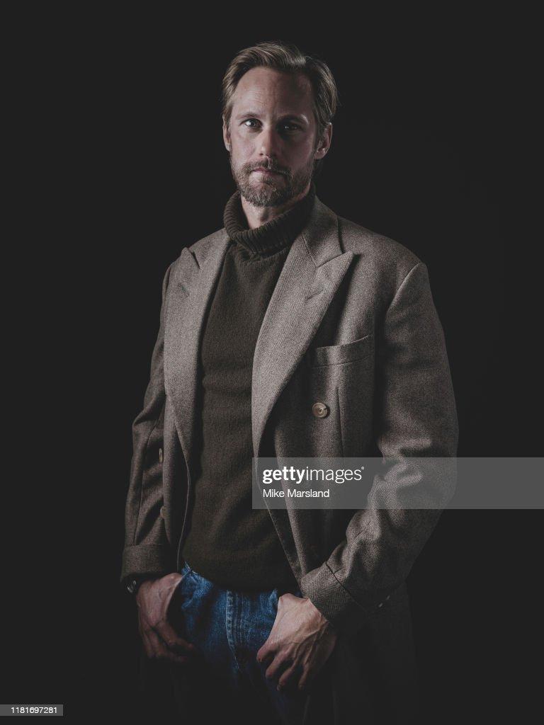 Alexander Skarsgard, Self assignment, October 18, 2019 : News Photo