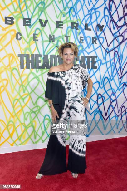 Actor Alexandra Billings attends Beverly Center The Advocate KickOff PRIDE Month with Champions of PRIDE Event on June 1 2018 in Los Angeles...