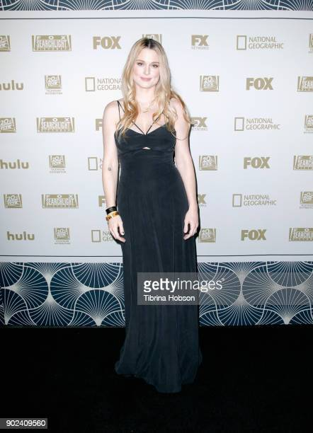 Actor Alexandra Breckenridge attends FOX FX and Hulu 2018 Golden Globe Awards After Party at The Beverly Hilton Hotel on January 7 2018 in Beverly...