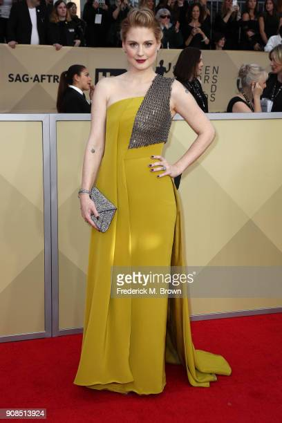 Actor Alexandra Breckenridge attends the 24th Annual Screen Actors Guild Awards at The Shrine Auditorium on January 21 2018 in Los Angeles California...