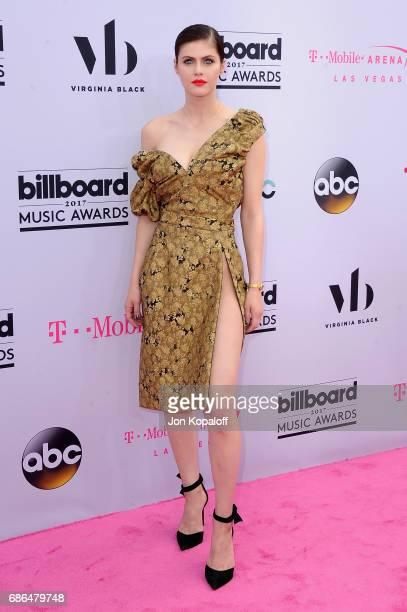 Actor Alexandra Daddario attends the 2017 Billboard Music Awards at TMobile Arena on May 21 2017 in Las Vegas Nevada