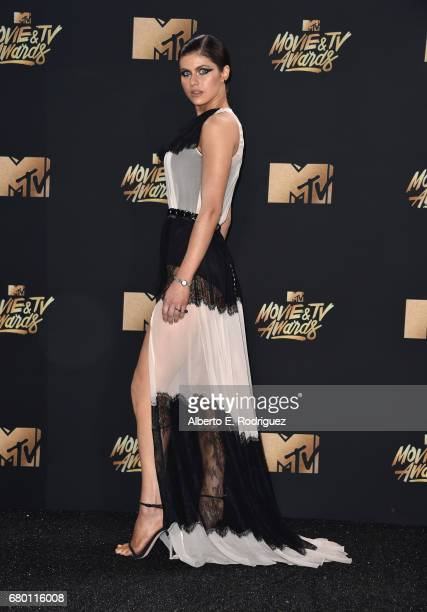 Actor Alexandra Daddario attends the 2017 MTV Movie And TV Awards at The Shrine Auditorium on May 7 2017 in Los Angeles California