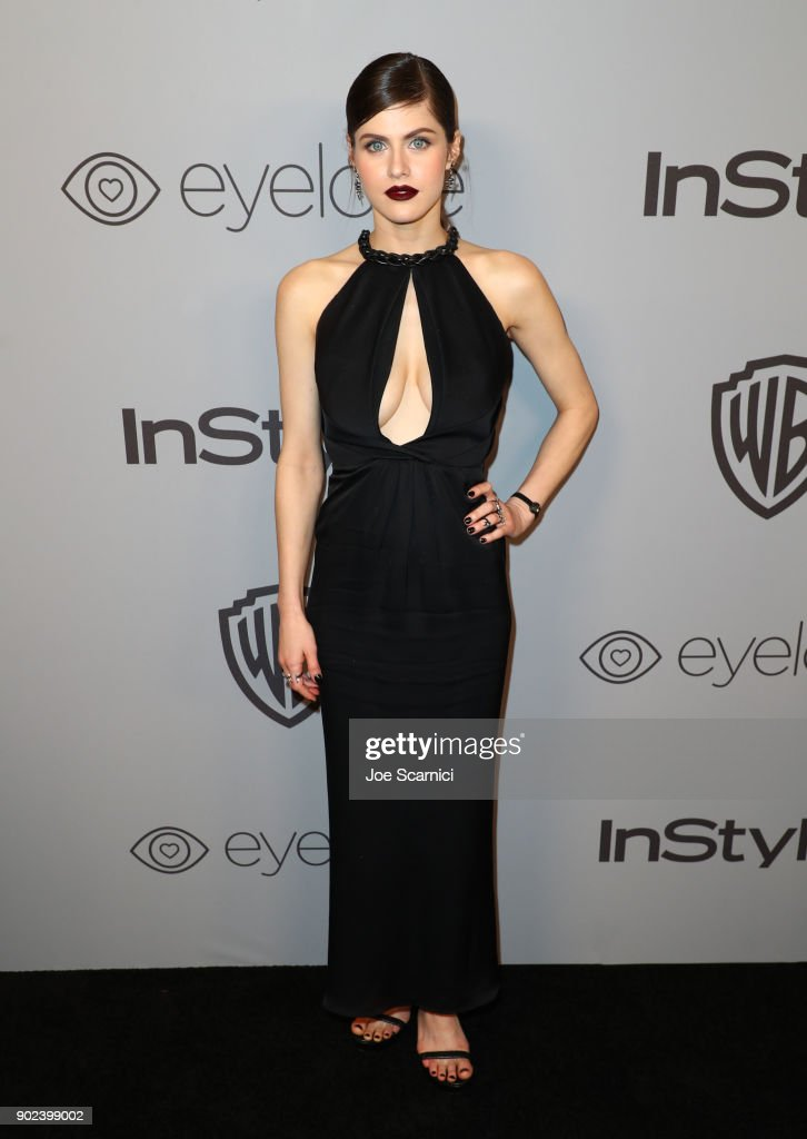 The 2018 InStyle And Warner Bros. 75th Annual Golden Globe Awards Post-Party - Red Carpet : Photo d'actualité