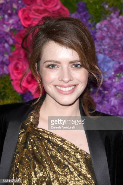 Actor Alexandra Dinu attends Bulgari's PreOscar Dinner at Chateau Marmont on February 25 2017 in Hollywood United States