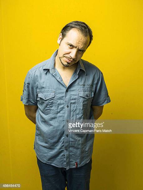 Actor Alexandre Astier is photographed for Paris Match on September 9 2014 in CaluireetCuire France