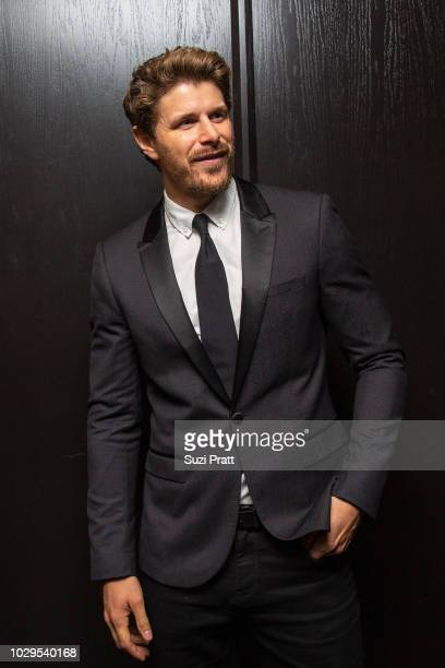 Actor Alexandre Landry poses for a photo at the Sony Pictures Classics TIFF Celebration Dinner at Morton's on September 8, 2018 in Toronto, Canada.