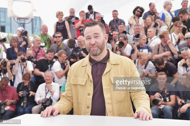 Actor Alexei Rozin attends the Loveless photocall during the 70th annual Cannes Film Festival at Palais des Festivals on May 18 2017 in Cannes France