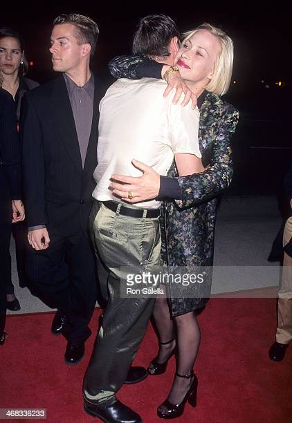 Actor Alexis Arquette and actress Patricia Arquette attend the Crash Beverly Hills Premiere on March 19 1997 at AMC Cecchi Gori in Beverly Hills...