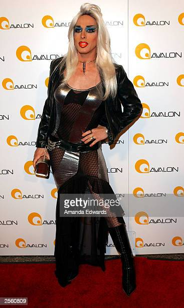 Actor Alexis Arquette arrives at the Grand Debut of Avalon on October 3 2003 in Hollywood California