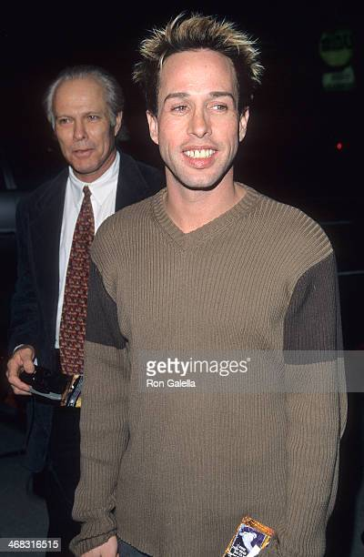 Actor Alexis Arquette attends the Clubland Beverly Hills Premiere on April 12 1999 at the Cecchi Gori Fine Arts Theatre in Beverly Hills California