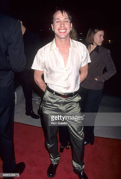 Actor Alexis Arquette attends the Crash Beverly Hills Premiere on March 19 1997 at AMC Cecchi Gori in Beverly Hills California