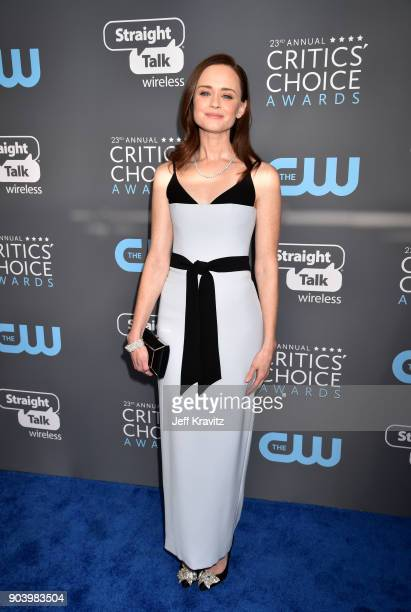 Actor Alexis Bledel attends The 23rd Annual Critics' Choice Awards at Barker Hangar on January 11 2018 in Santa Monica California