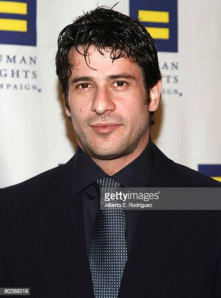 Actor Alexis Georgoulis arrives at the Human Rights Campaign's annual Los Angeles Gala on March 15 2008 in Los Angeles California