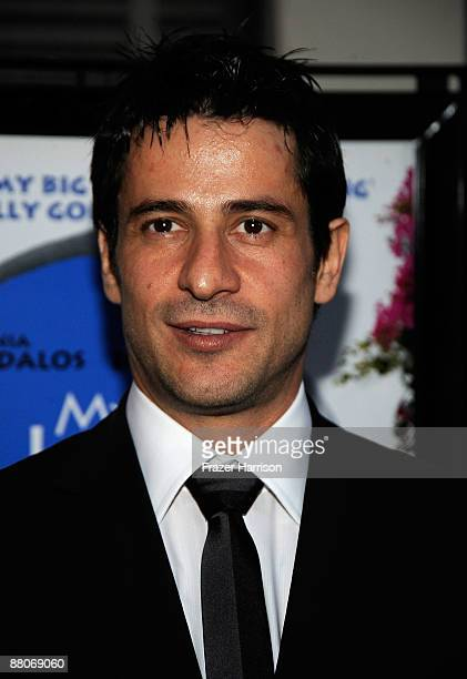 Actor Alexis Georgoulis arrives at the Premiere Of 20th Century Fox's My Life In Ruins on May 29 at Fox Studios in Culver City California