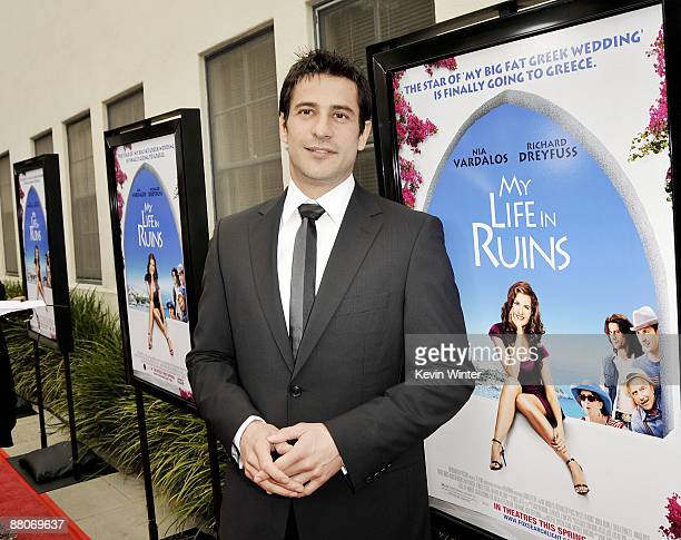 Actor Alexis Georgoulis arrives at the premiere of Fox Searchlight's My Life in Ruins at the Zanuck Theater on May 29 2009 in Los Angeles California