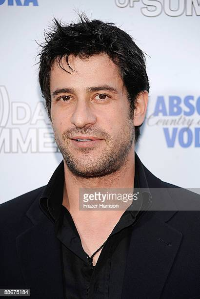Actor Alexis Georgoulis arrives at the premiere of Fox Searchlight's Days Of Summer at the Egyptian Theatre on June 24 2009 in Hollywood California