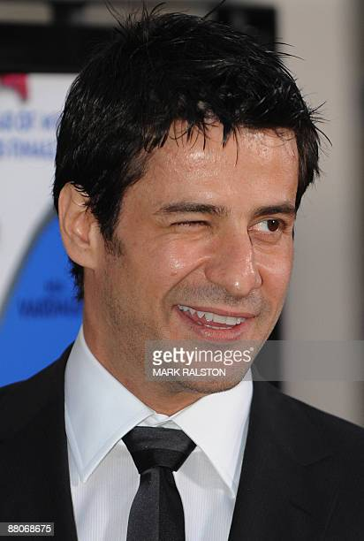 Actor Alexis Georgoulis arrives on the red carpet for the premiere of the film My Life in Ruins at the Zanuck Theater in Los Angeles on May 29 2009...