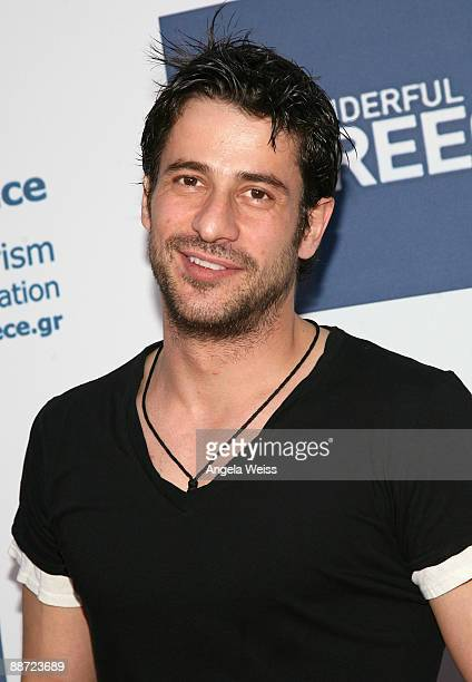 Actor Alexis Georgoulis arrives to the LA Greek Film Festival Premiere of IFC Films' 'I hate Valentine's Day' at the Egyptian Theatre on June 27 2009...