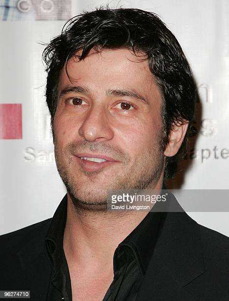 Actor Alexis Georgoulis attends Stephanie Pratt Jordan Johnson's PreGRAMMY Party at hwood on January 29 2010 in Hollywood California