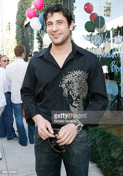 Actor Alexis Georgoulis attends the Cindy Carwford Rende Berger host the John Varvatos 6th Annual Stuart House Benefit presented by Converse March 9...