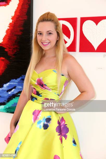 Actor Alexis Nolan attends Art On Scene's group show gallery Back To School Special at Art On Scene on August 5 2017 in West Hollywood California
