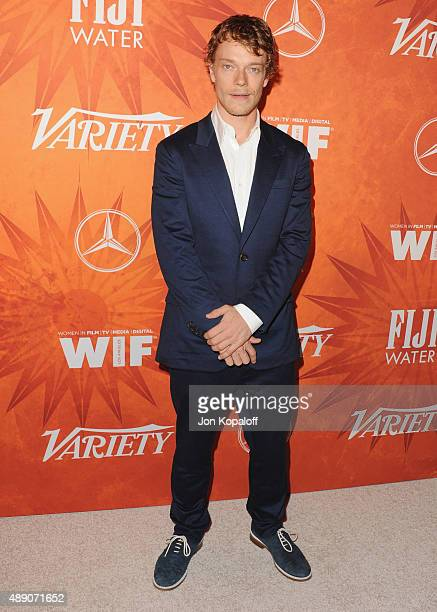 Actor Alfie Allen arrives at the Variety And Women In Film Annual Pre-Emmy Celebration at Gracias Madre on September 18, 2015 in West Hollywood,...