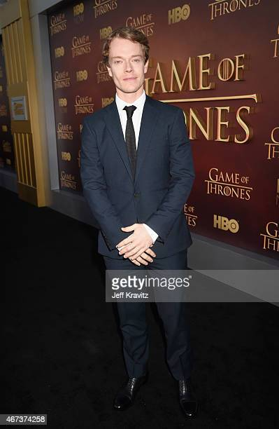 Actor Alfie Allen attends HBO's 'Game of Thrones' Season 5 Premiere and After Party at the San Francisco Opera House on March 23 2015 in San...