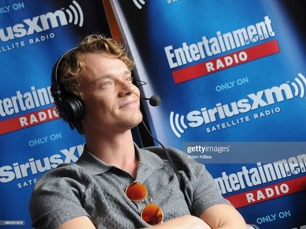 Actor Alfie Allen attends SiriusXM's Entertainment Weekly Radio Channel Broadcasts From Comic-Con 2015 at Hard Rock Hotel San Diego on July 10, 2015 in San Diego, California.