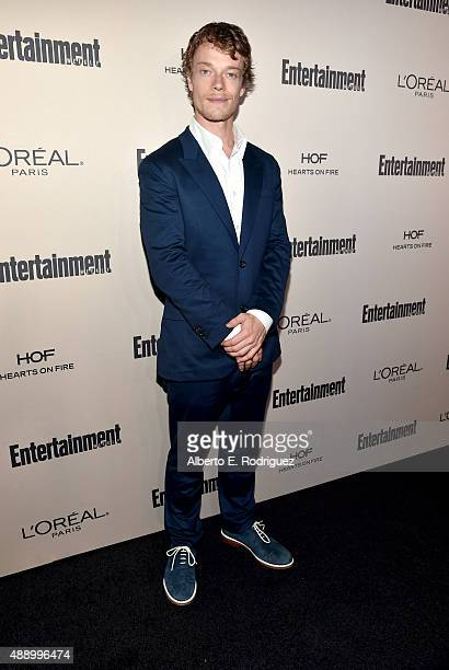 Actor Alfie Allen attends the 2015 Entertainment Weekly PreEmmy Party at Fig Olive Melrose Place on September 18 2015 in West Hollywood California