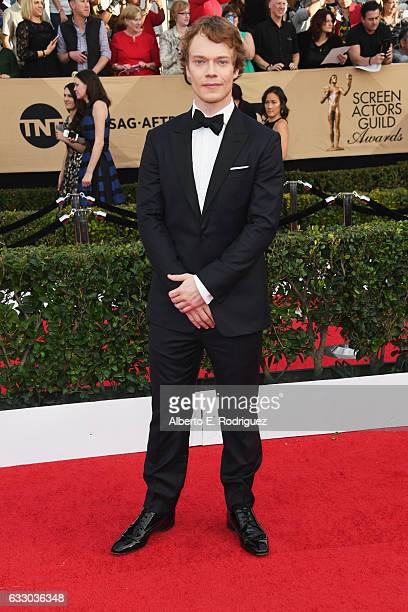 Actor Alfie Allen attends the 23rd Annual Screen Actors Guild Awards at The Shrine Expo Hall on January 29 2017 in Los Angeles California
