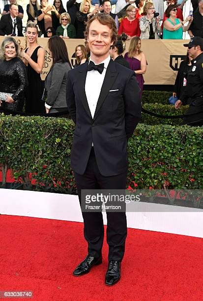 Actor Alfie Allen attends The 23rd Annual Screen Actors Guild Awards at The Shrine Auditorium on January 29, 2017 in Los Angeles, California....