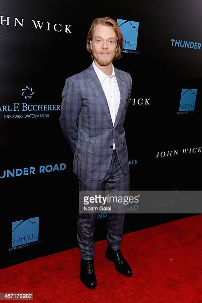 Actor Alfie Allen attends the John Wick New York Premiere at Regal Union Square Theatre Stadium 14 on October 13 2014 in New York City