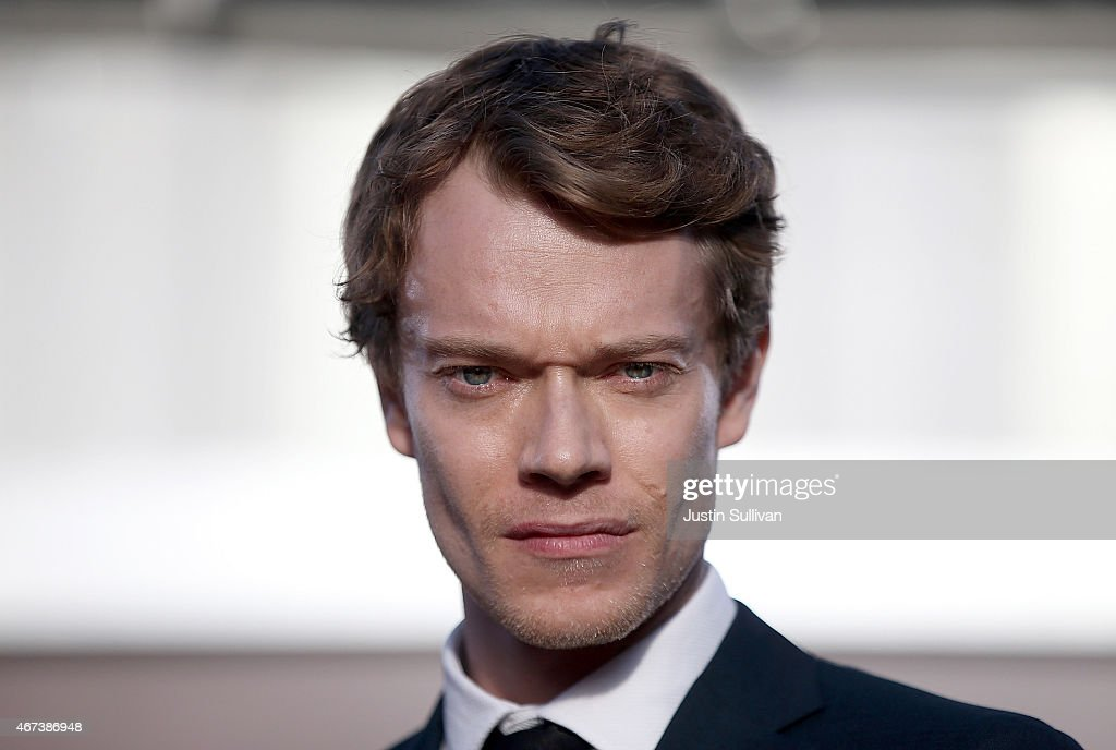 Actor Alfie Allen attends the premiere of HBO's 'Game of Thrones' Season 5 at San Francisco Opera House on March 23, 2015 in San Francisco, California.