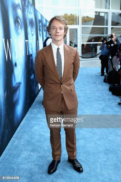 Actor Alfie Allen attends the premiere of HBO's 'Game Of Thrones' season 7 at Walt Disney Concert Hall on July 12 2017 in Los Angeles California