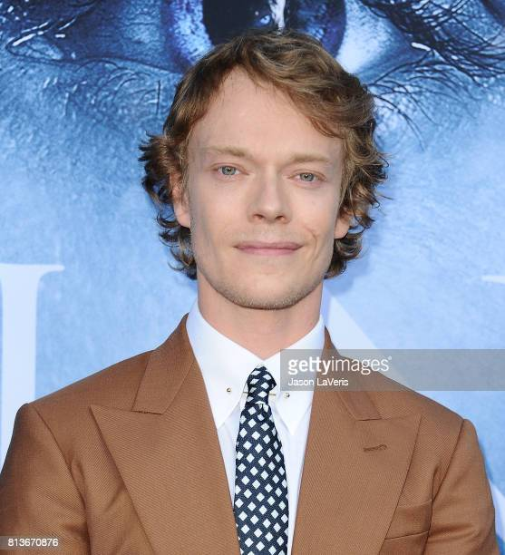 """Actor Alfie Allen attends the season 7 premiere of """"Game Of Thrones"""" at Walt Disney Concert Hall on July 12, 2017 in Los Angeles, California."""