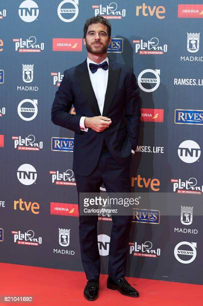 Actor Alfonso Bassave attends the Platino Awards 2017 photocall at the La Caja Magica on July 22 2017 in Madrid Spain