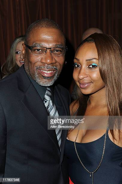 Actor Alfonso Freeman and actress Jamie Phelps attend the 'Fashion On The Real' charity event at La Fonda Supper Club on June 30 2011 in Los Angeles...