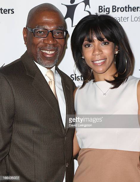 Actor Alfonso Freeman and sister Morgana Freeman attend the Big Brothers Big Sisters of Greater Los Angeles annual Accessories for Success spring...