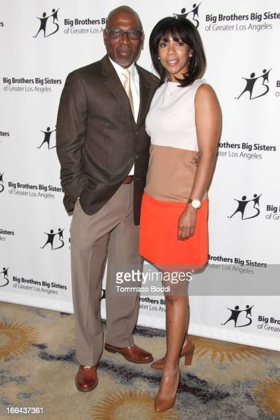 Actor Alfonso Freeman and sister Morgana Freeman attend the Guild of Big Brothers Big Sisters of greater Los Angeles' annual accessories for success...