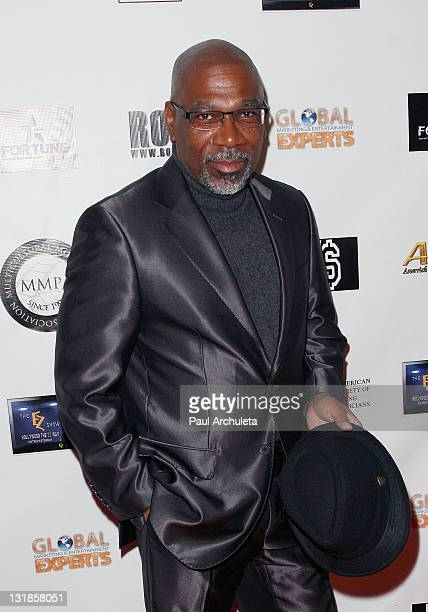 Actor Alfonso Freeman arrives at the Hollywood music showcase and fundraiser benefiting American Red Cross relief effort In Japan at The Highlands...