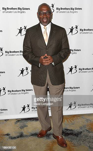 Actor Alfonso Freeman attends the Big Brothers Big Sisters of Greater Los Angeles annual Accessories for Success spring luncheon fashion show at the...