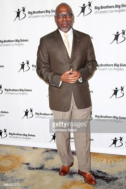 Actor Alfonso Freeman attends the Guild of Big Brothers Big Sisters of greater Los Angeles' annual accessories for success spring luncheon fashion...